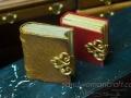 Miniature leather book