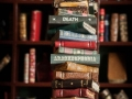 """Miniature book stack """"Illusion Of Hell"""""""