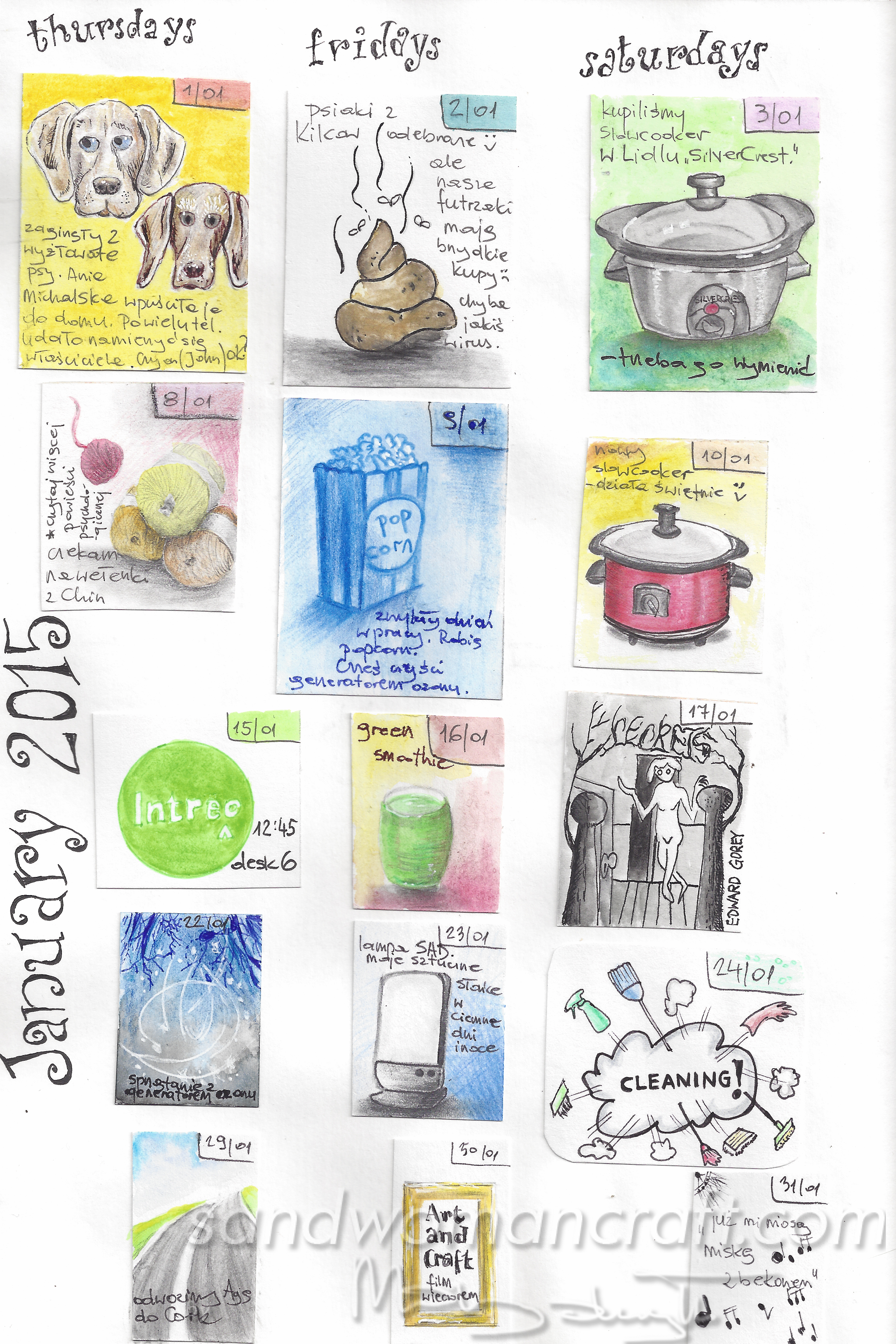 Art journal january 2015