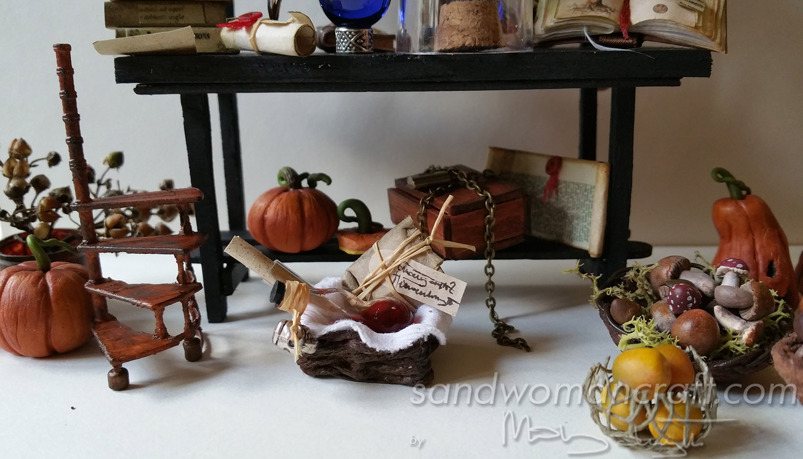 Autumn Halloween miniatures