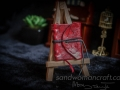 Miniature red journal- bigger version