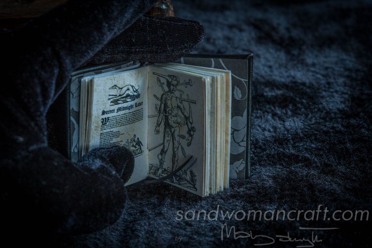 "Miniature book ""Dark arts"""