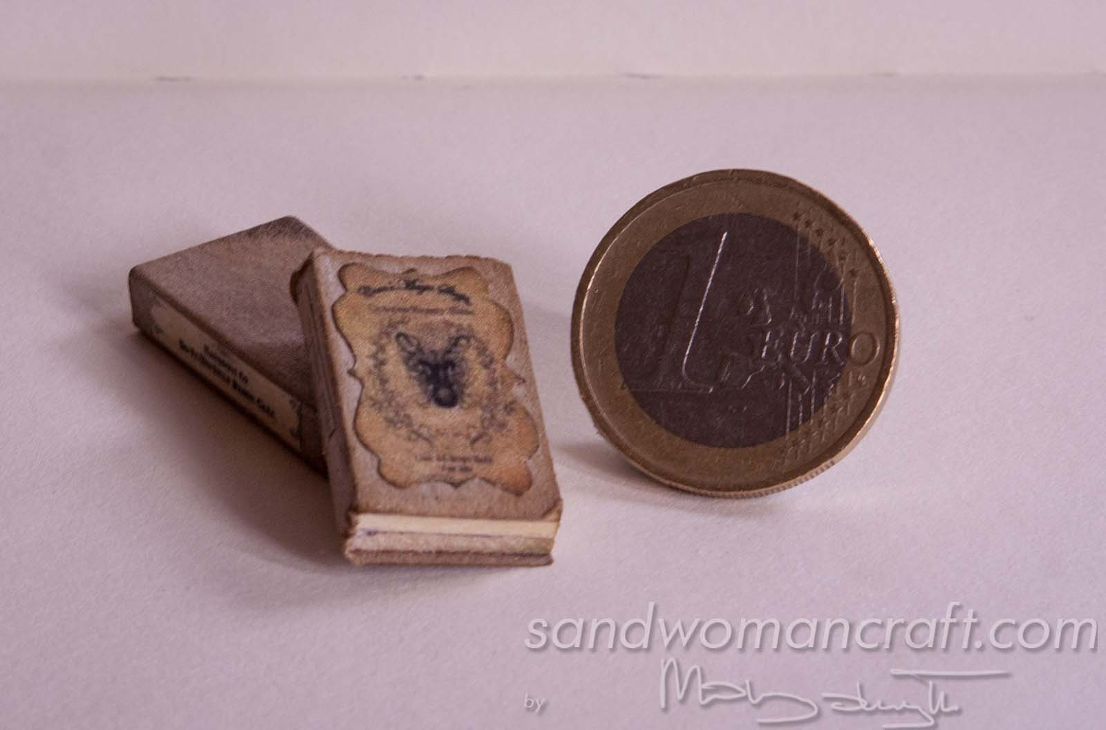 "Miniature book ""Dragon's Care"""