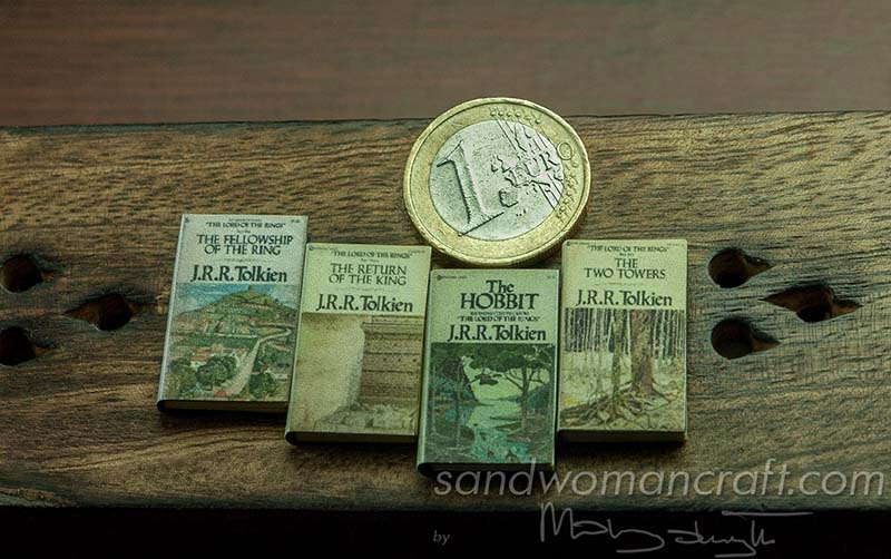 Miniature books. Set. Hobbit. Tolkien