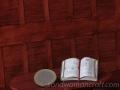 "Miniature open book ""Magic and spells"""