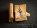 Miniature book Gothic Plague Doctor