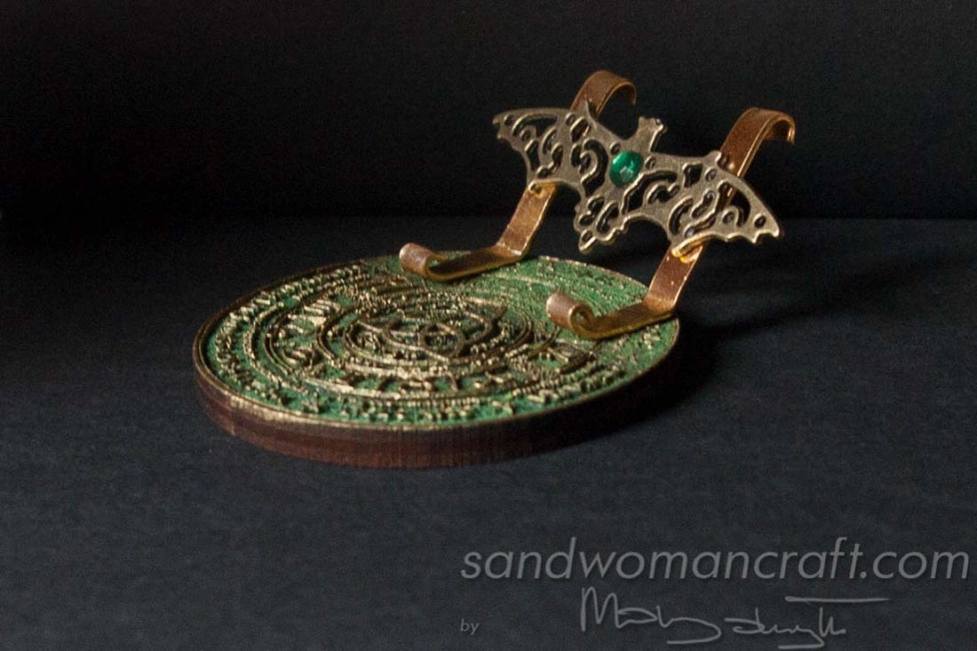 Miniature book stand