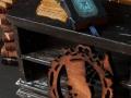 Miniature leather book with Tarantula