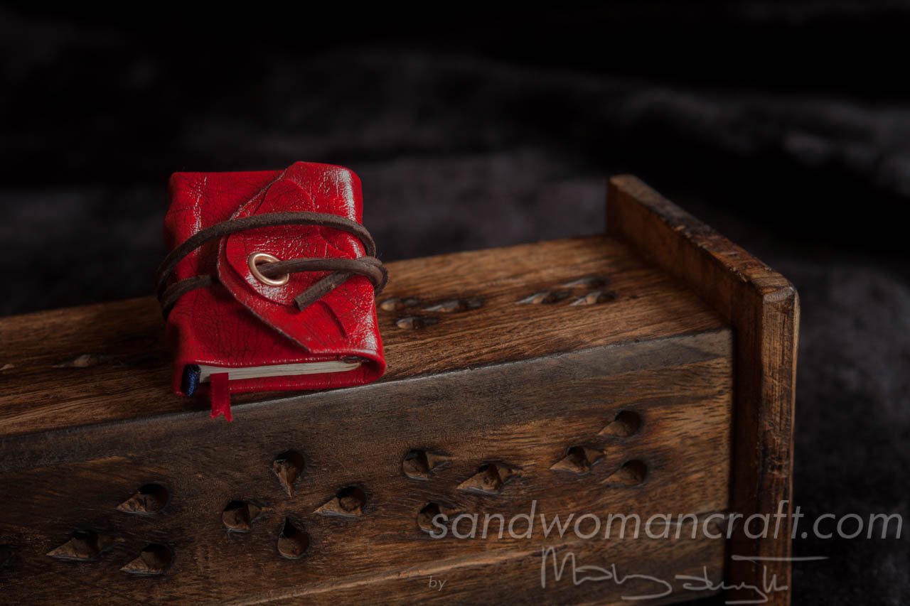 Miniature red journal