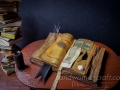 Miniature open book