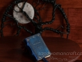 """Moonstone"" miniature leather book"