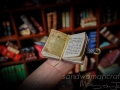 Open Da Vinci miniature tiny book
