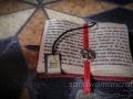 Miniature open herbs book