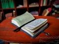 Open miniature book- medieval