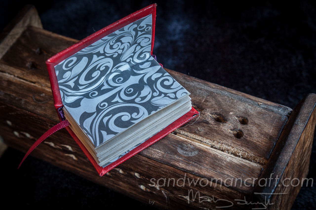 Red steampunk book
