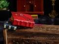 Red steampunk book