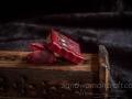 Red leather miniature steampunk book