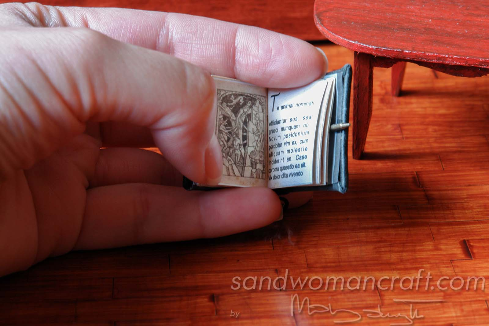 Miniature Steampunk Book