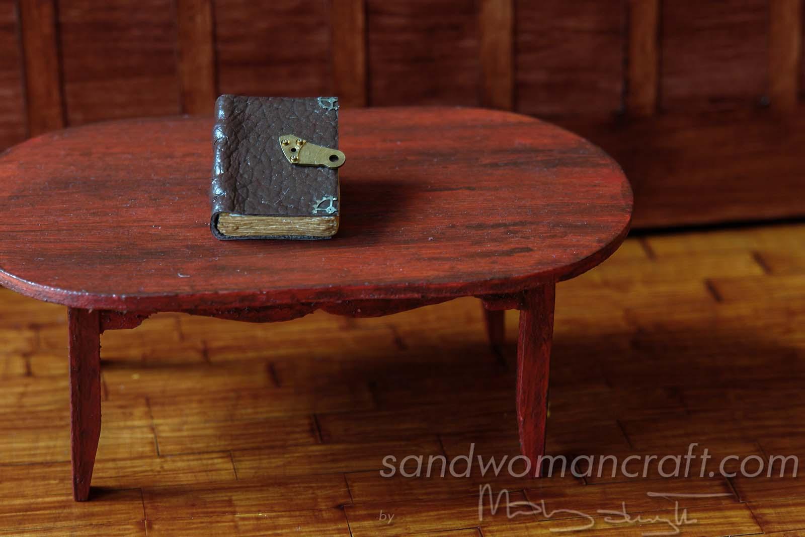 Miniature Steampunk Book