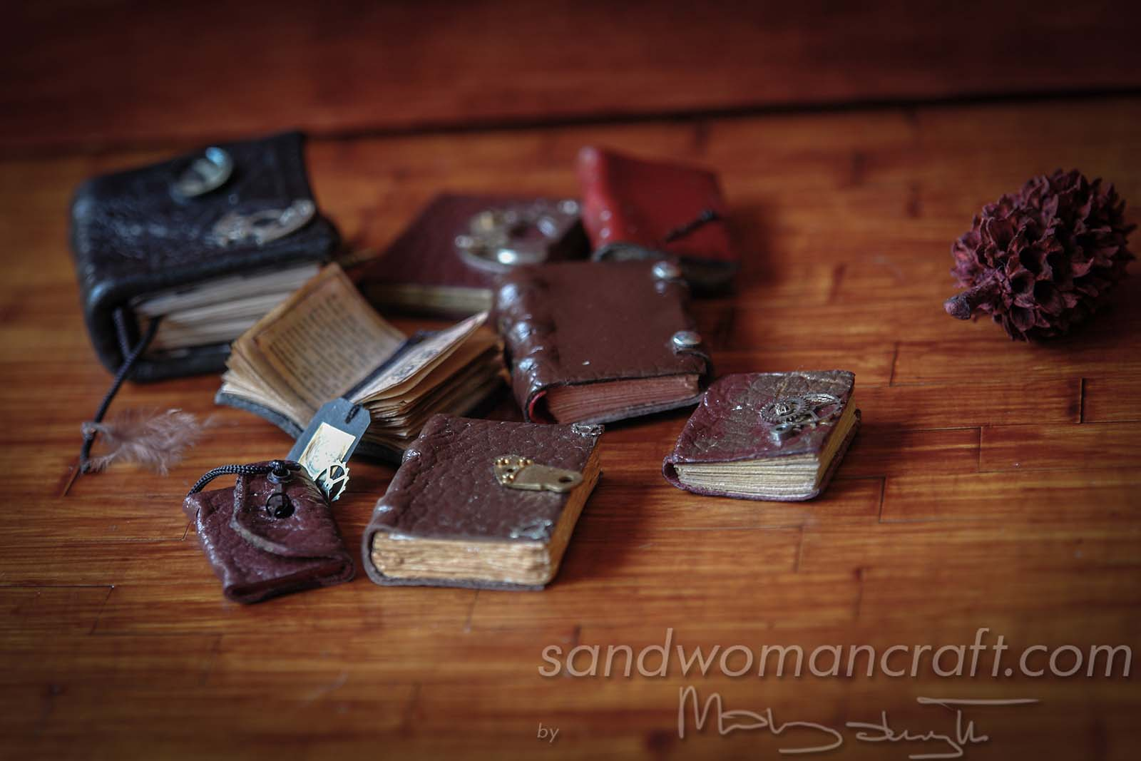 Miniature Steampunk Books