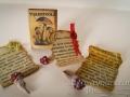 Miniature toadstools set
