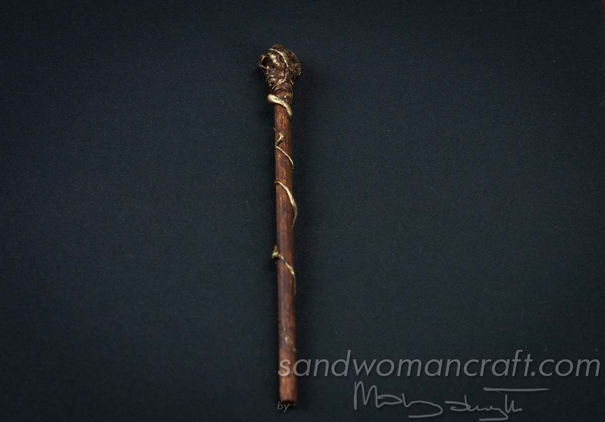Miniature magic walking stick