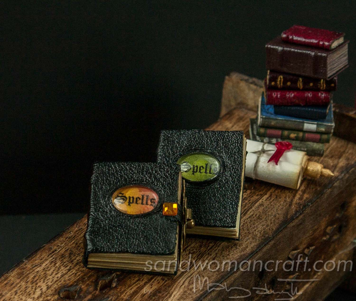 Miniature Books Of Spells