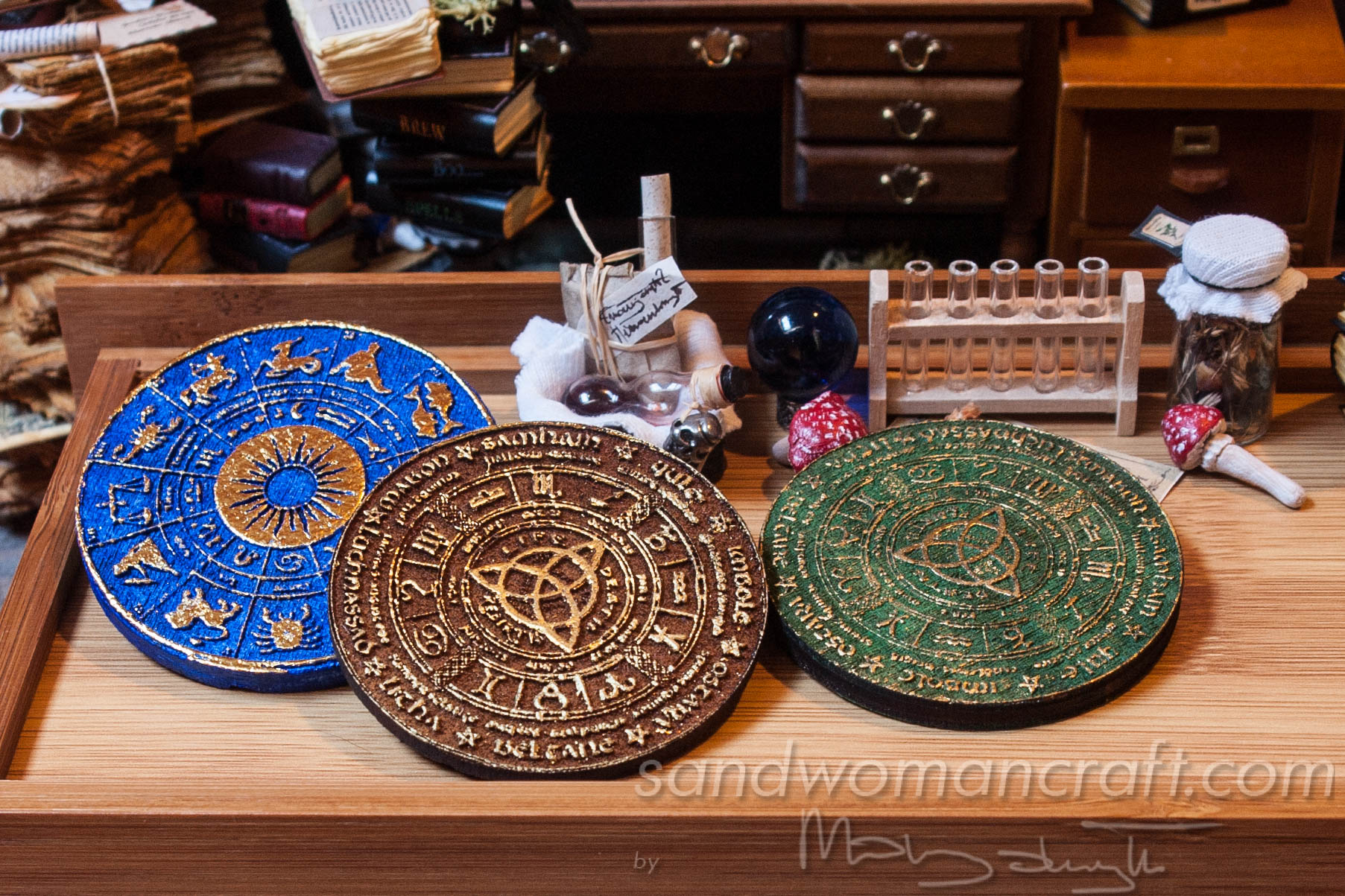 Celtic Wheels Of the year plus Zodiac Wheel