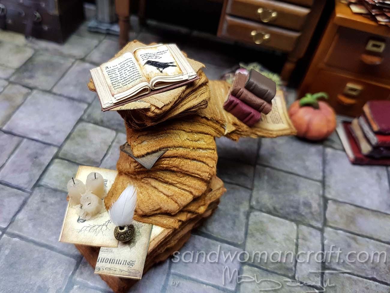 "Miniature ""Crow"" stack"