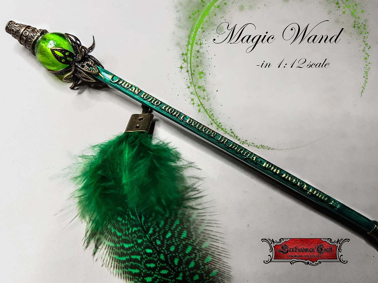 Miniature magic wand