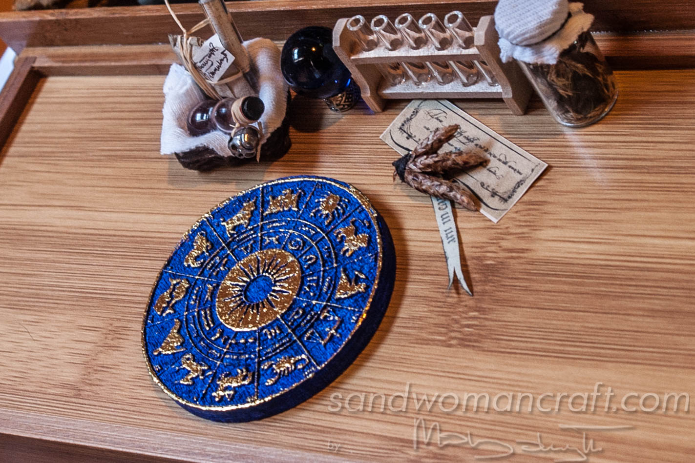Miniature Zodiac Wheel