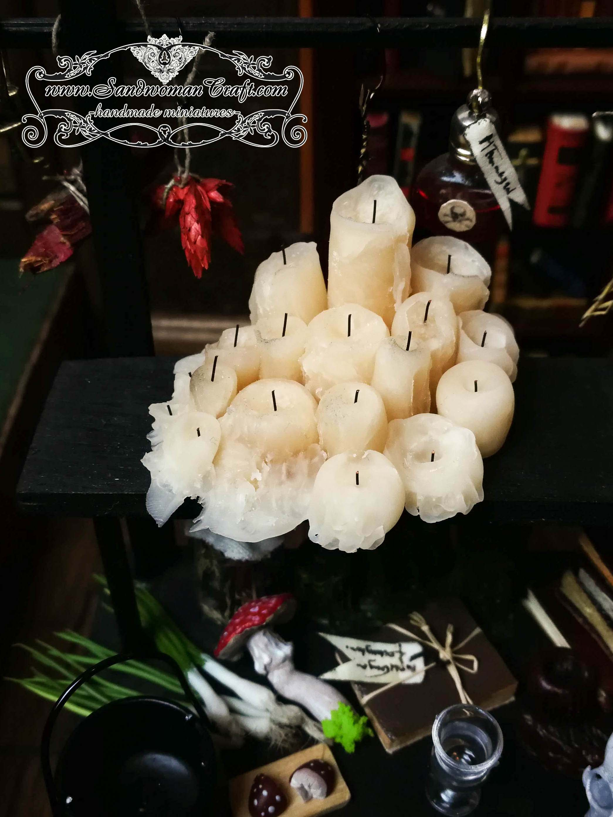 Miniature candles
